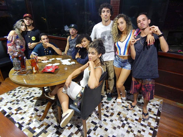 Mente de vilã é o terceiro trabalho lançado pelo rapper Portuguê$