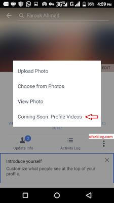 f Facebook Now Supports Video As Profile Picture Technology