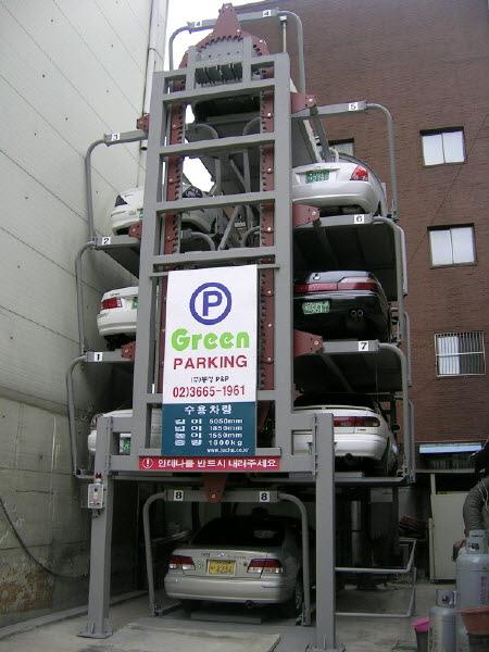 Rotating Car Parking System
