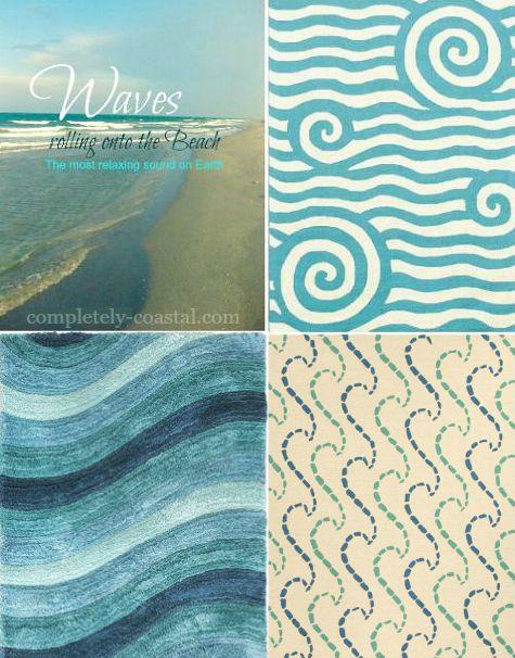 Ocean Wave Rugs