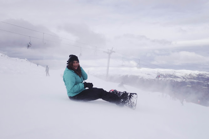 Cardrona New Zealand Snowboarding