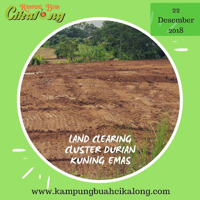 progres cluster durian kuning emas kampung buah cikalong