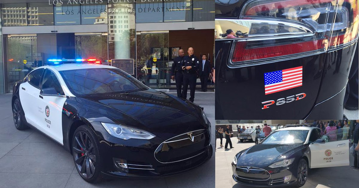 LAPD Still Considering Tesla Police Cars Despite Recent