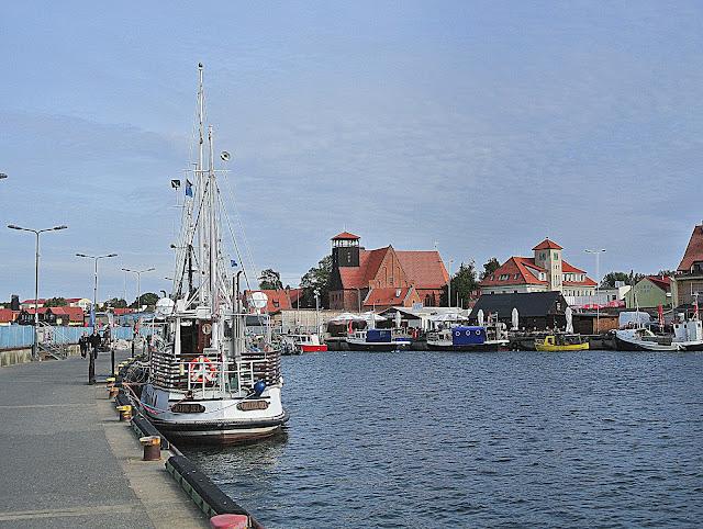port na Helu, statki, rejsy po Zatoce