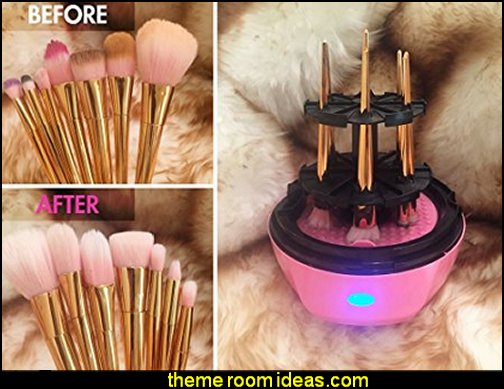 Makeup Brush Cleaner beauty salon theme bedroom ideas - Hair Salon theme decorating ideas - Beauty Salon Decor Ideas - Beauty salon themed bedroom - decorating ideas beauty salon theme - Makeup Room Decor