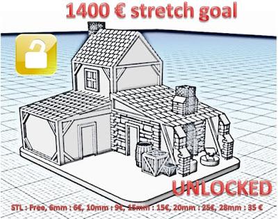 £1400 Stretch Goal