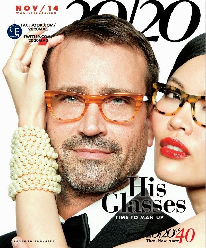 MAGAZINE COVER: Yuen Jia on (US) 20/20 Magazine, November 2014   Asian Model