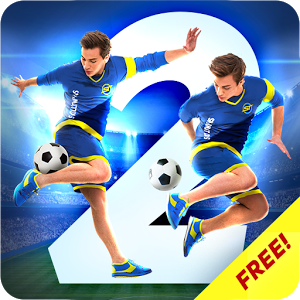 SkillTwins Football Game 2 MOD APK terbaru