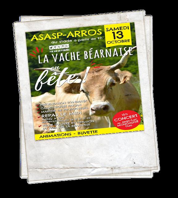 La vache béarnaise en fête ASASP ARROS 2018