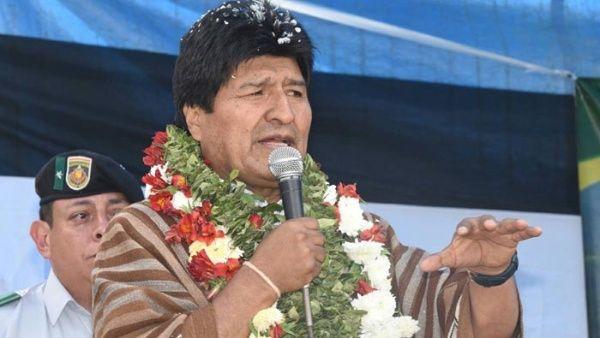 Evo Morales asegura que huracanes son producto del capitalismo