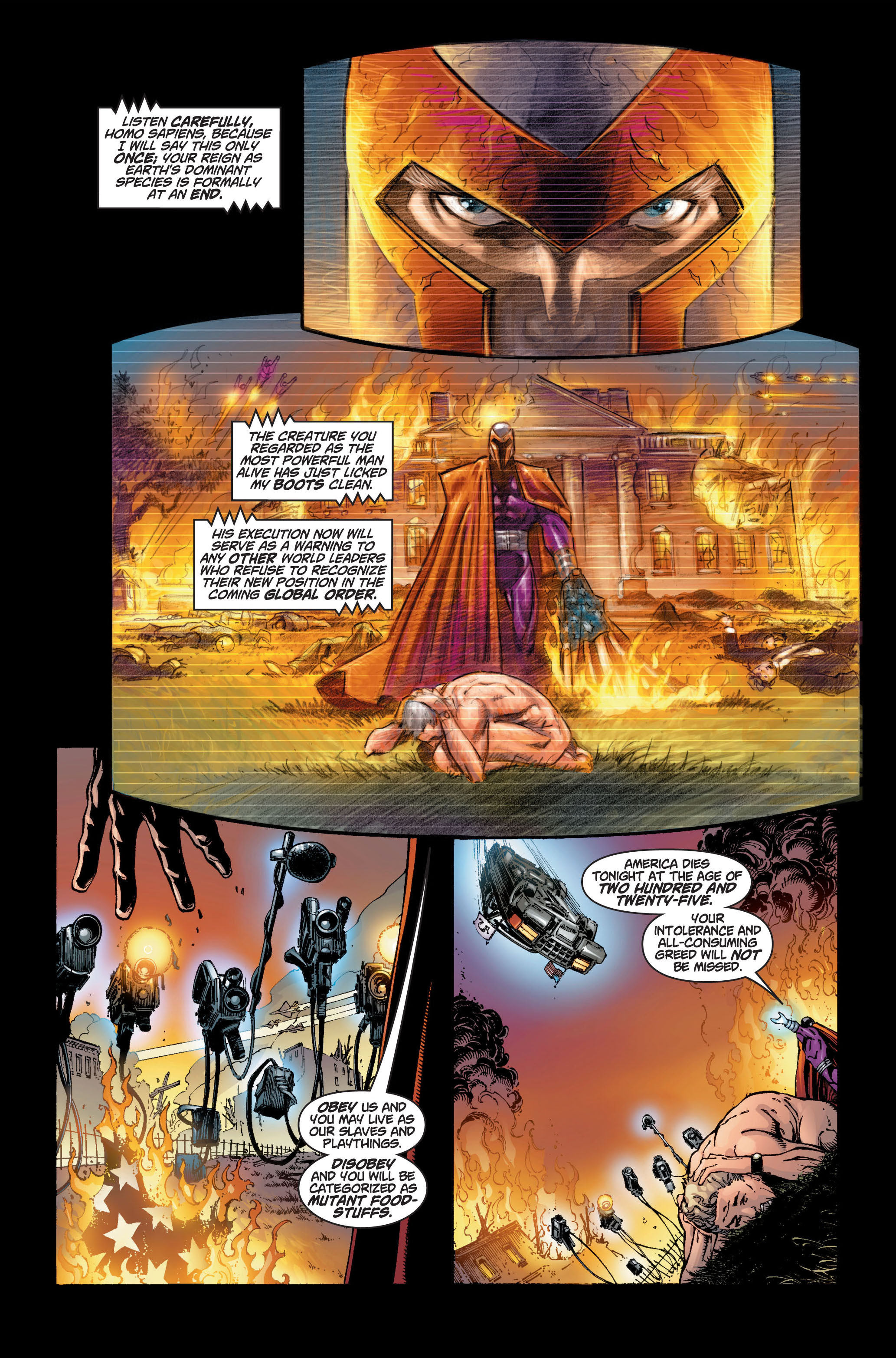 Read online Ultimate X-Men comic -  Issue #6 - 10