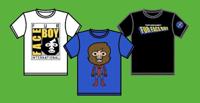 Fur Face Boy San Diego Comic-Con 2018 T-Shirt Collection