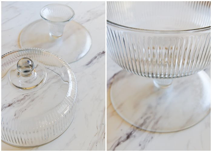 how to turn a cake stand into a trifle bowl