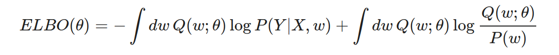 ELBO formula