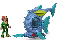 Mattel Fisher Price Imaginext DC Super Friends Aquaman Mera & Battle Sub