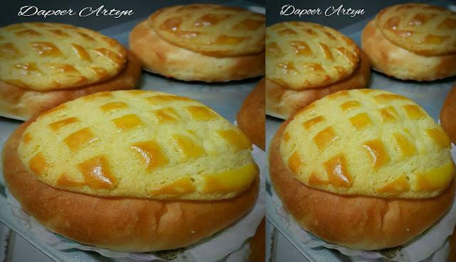 Resep Polo Pau atau  Pineapple Bun Hongkong