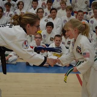 Martial arts teacher and kids martial arts