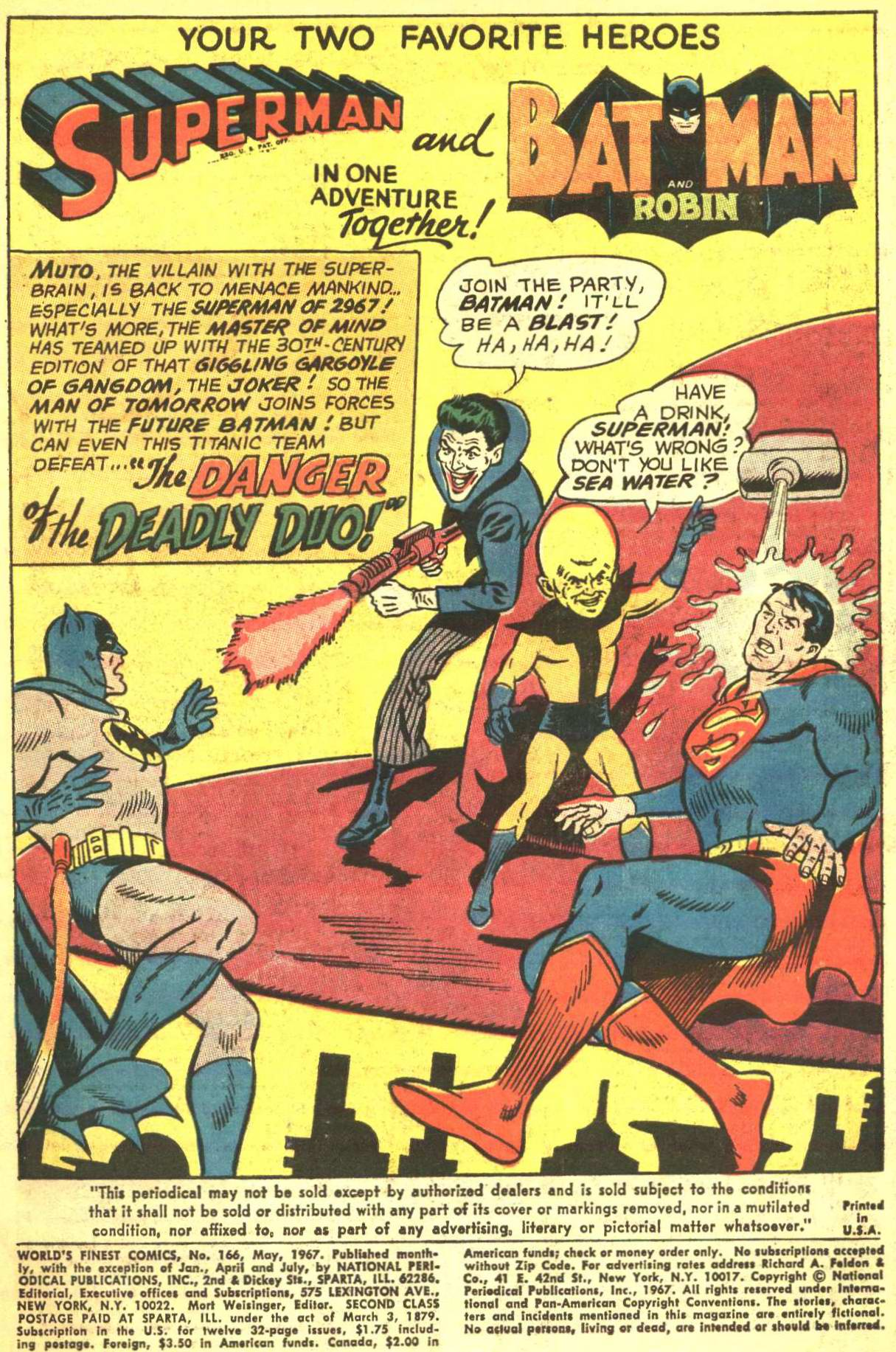 Read online World's Finest Comics comic -  Issue #166 - 3