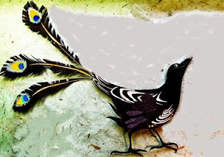 La cornacchia e le piume del pavone (Fedro)