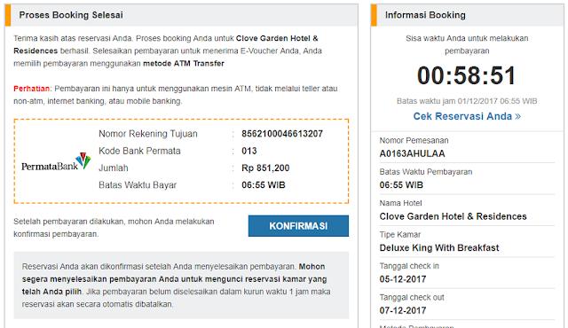 booking hotel secara online