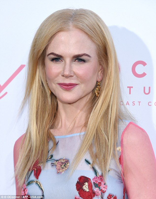 Nicole Kidman stuns in floral gown at The Beguiled LA premiere