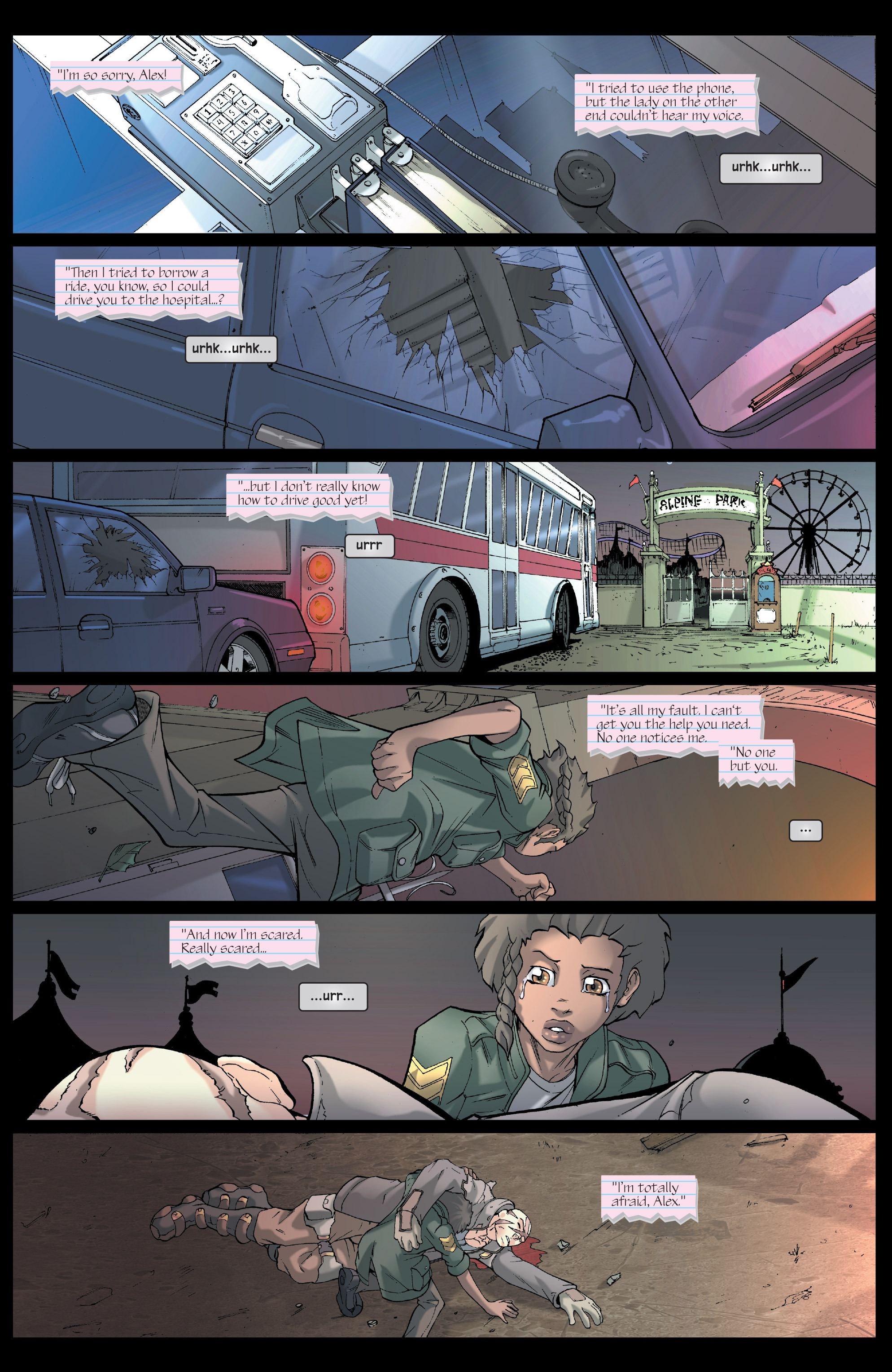 Read online Agent X comic -  Issue #5 - 3