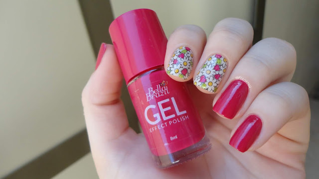 Esmalte Bella Brazil Gel Effect Polish - Salsa