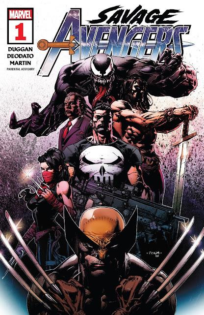 Descargar Savage Avengers Volumen 1 2019 mega español cbr gratis