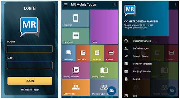 Daftar Harga MR Mobile Topup