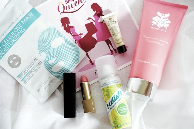 pink box shopping queen mai 2016 unboxing