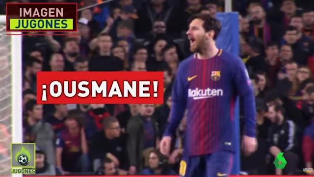 La vidéo magnifique qui montre comment Messi a aidé Dembélé face à Chelsea