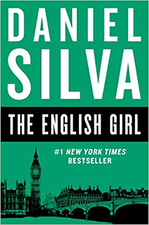 The English Girl by Daniel Silva (Book cover)