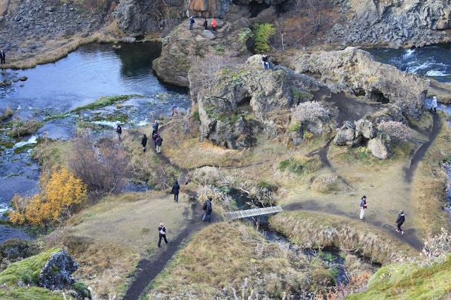 Gjáin Gorge  in Iceland featuring a magical landscape was a filming location for Game of Thrones