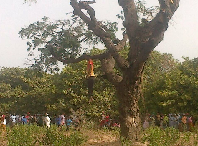 man commits suicide gambia