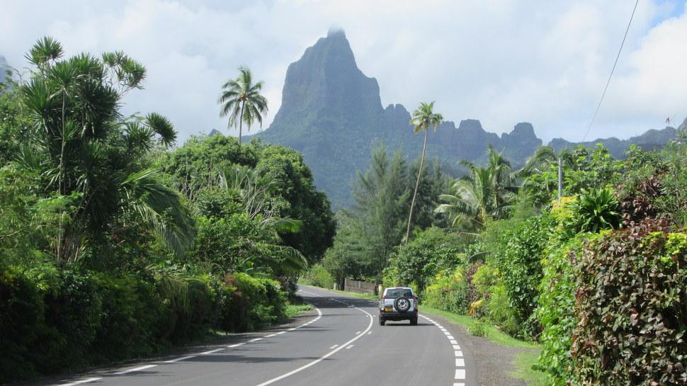 Mont Mou'a Roa à Opunohu