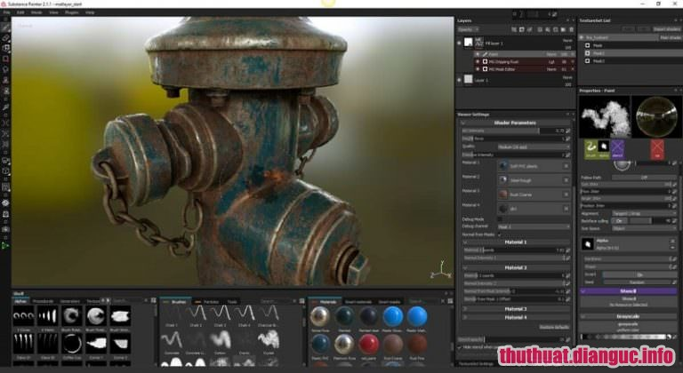 Download Substance Painter 2019.1.0.3020 Full Crack, phần mềm vẽ 3D hiệu ứng, Substance Painter 2019, Substance Painter 2019 free download, Substance Painter 2019 full key