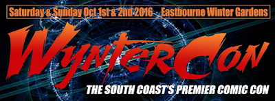wyntercon comic con convention in eastbourne, england (UK) - October 1-2 2016