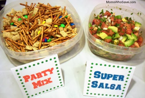 Football, Fun, and Good Food -- Super Bowl Party Ideas With Rubbermaid & Sharpie