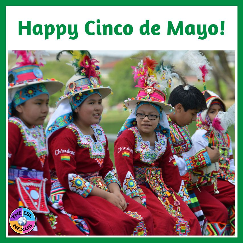 Find resources for teaching about Cinco de Mayo & Ramandan in this blog post | The ESL Nexus