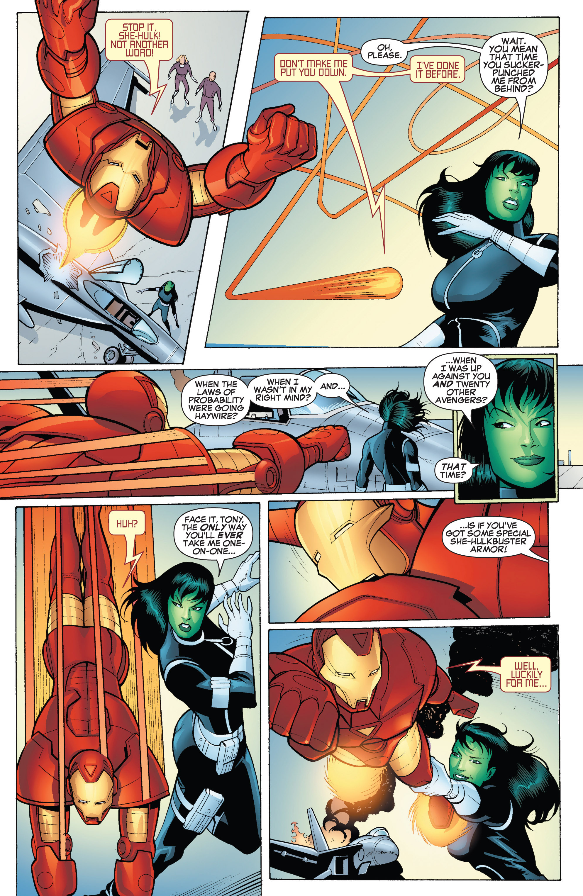 Read online She-Hulk (2005) comic -  Issue #18 - 18