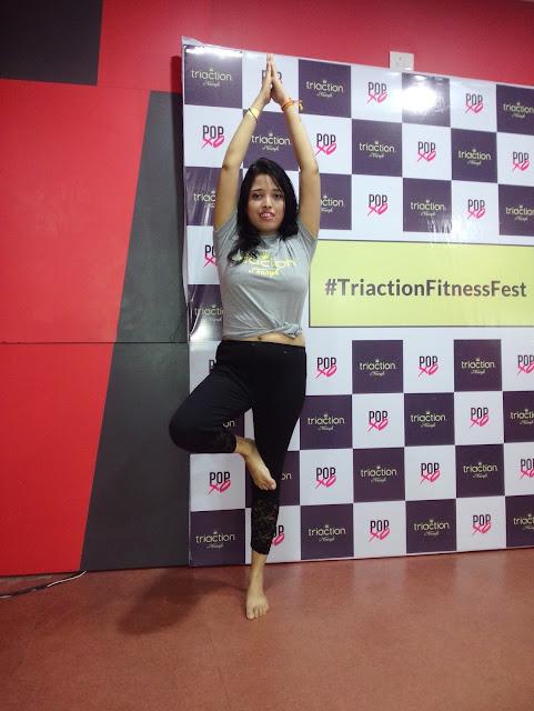 Nikita Gharat Fitness Regime Fitness First Mega Mall