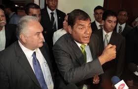 Caupolican Ochoa, abogado de Rafael Correa