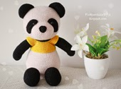 http://fukuroucrafts.blogspot.com/2015/04/cute-crochet-pattern-panda-bear-doll.html