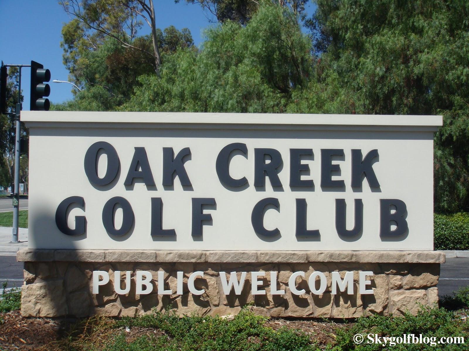 SkyGolf Blog... Golf Courses Around the World: Oak Creek ...