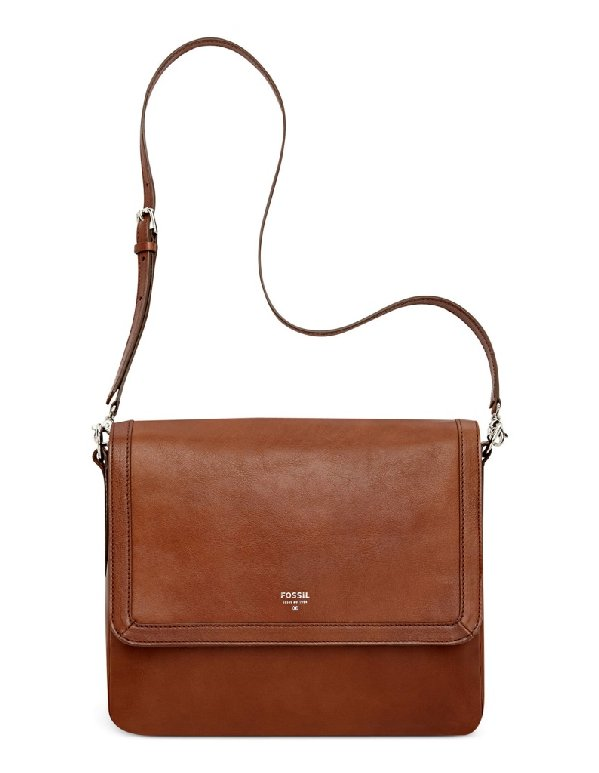 USA Boutique: Fossil Sydney Leather Flap Crossbody