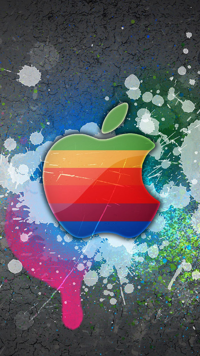 Free Download Apple Logo iPhone 5 HD Wallpapers | Free HD Wallpapers for Your iPhone and iPod touch!