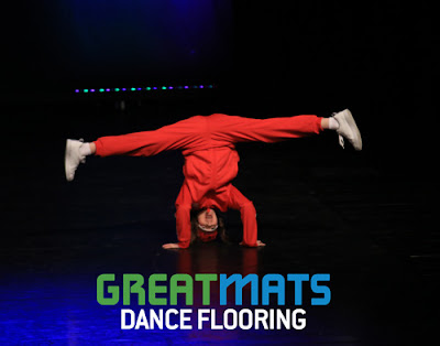 Greatmats Hip Hop Breakdance Flooring at Midwest Starz Dance