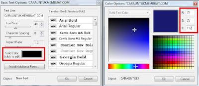 Kode Warna RGB