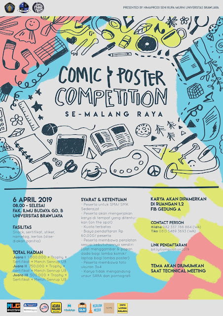 Composition - Comic & Poster Competition 2019