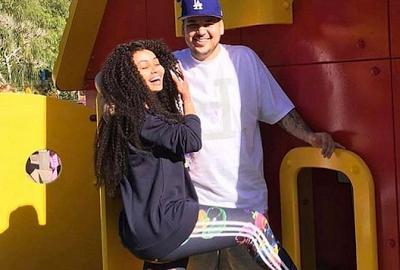 PHOTOS: Blac Chyna Recieves Happy Birthday Wish From Rob